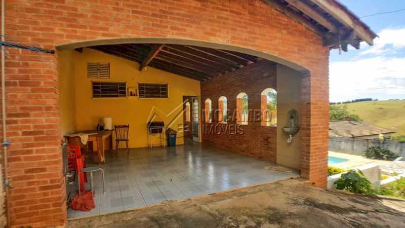 Área externa - Chácara 1000m² à venda Itatiba,SP - R$ 650.000 - FCCH30112 - 25
