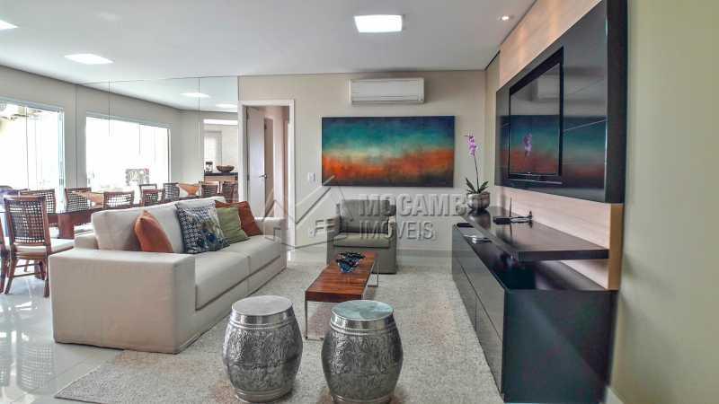 Sala - Apartamento 3 quartos à venda Itatiba,SP - R$ 790.000 - FCAP30509 - 1
