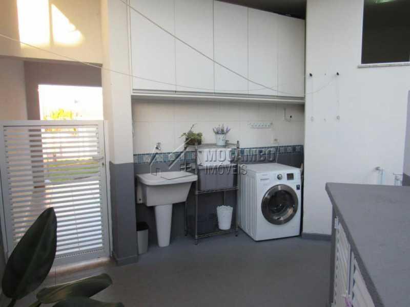 Lavanderia - Casa em Condomínio 3 quartos à venda Itatiba,SP - R$ 1.100.000 - FCCN30412 - 30