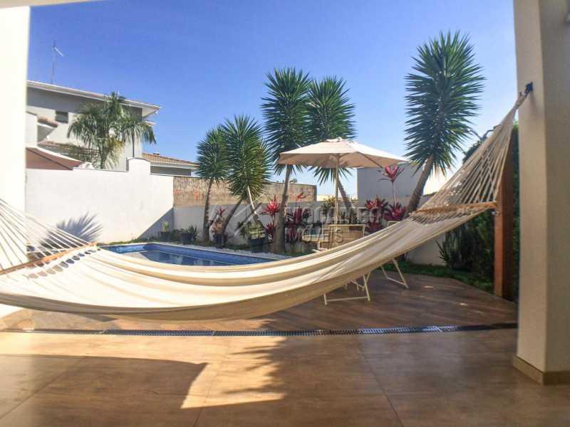 Área externa - Casa em Condomínio 3 quartos à venda Itatiba,SP - R$ 1.100.000 - FCCN30412 - 21