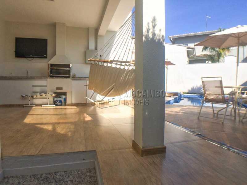 Área gourmet - Casa em Condomínio 3 quartos à venda Itatiba,SP - R$ 1.100.000 - FCCN30412 - 19