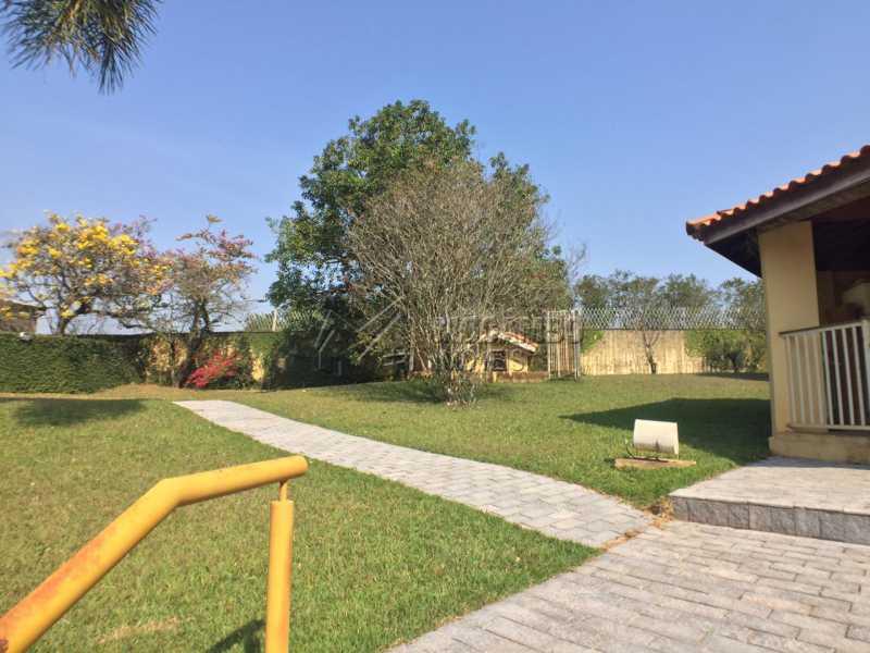 Quintal  - Casa em Condomínio 4 quartos à venda Itatiba,SP - R$ 900.000 - FCCN40141 - 13