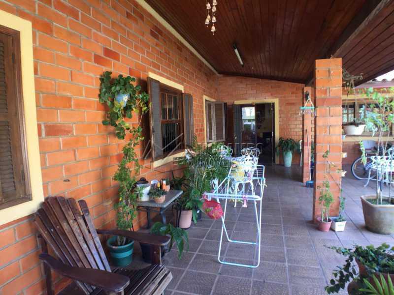 Varanda - Casa em Condomínio 4 quartos à venda Itatiba,SP - R$ 900.000 - FCCN40141 - 1