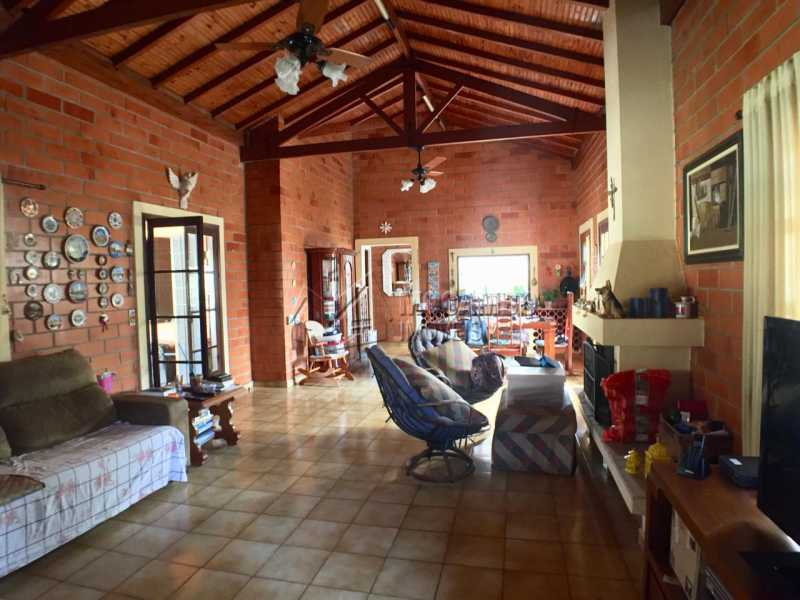 Sala - Casa em Condomínio 4 quartos à venda Itatiba,SP - R$ 900.000 - FCCN40141 - 4