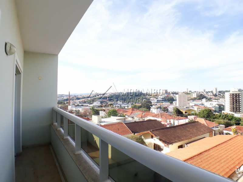 Varanda - Apartamento Condomínio Residencial Luiza, Itatiba, Jardim Belém, SP Para Alugar, 3 Quartos, 90m² - FCAP30511 - 13