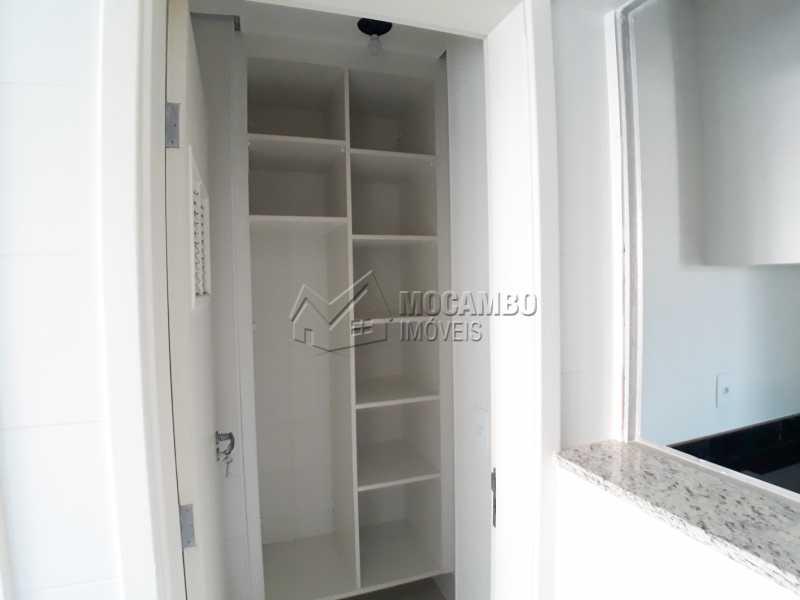 Lavanderia - Apartamento Condomínio Residencial Luiza, Itatiba, Jardim Belém, SP Para Alugar, 3 Quartos, 90m² - FCAP30511 - 12