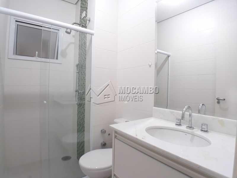 Banheiro Suite - Apartamento Condomínio Residencial Luiza, Itatiba, Jardim Belém, SP Para Alugar, 3 Quartos, 90m² - FCAP30511 - 6