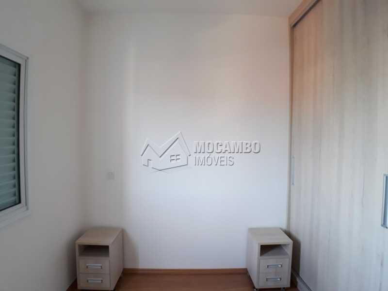 Dormitório 02 - Apartamento Condomínio Residencial Luiza, Itatiba, Jardim Belém, SP Para Alugar, 3 Quartos, 90m² - FCAP30511 - 8