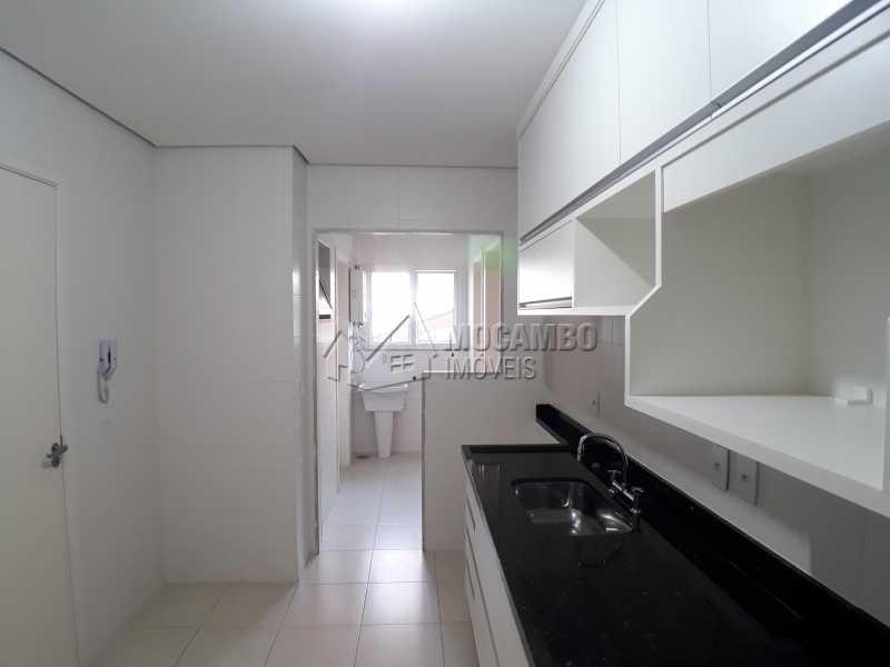 Cozinha - Apartamento Condomínio Residencial Luiza, Itatiba, Jardim Belém, SP Para Alugar, 3 Quartos, 90m² - FCAP30511 - 1