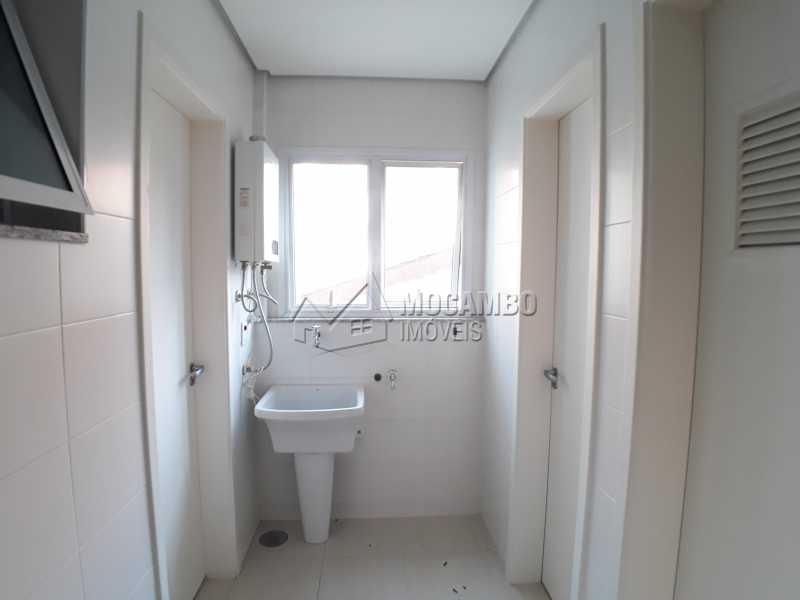 Lavanderia - Apartamento Condomínio Residencial Luiza, Itatiba, Jardim Belém, SP Para Alugar, 3 Quartos, 90m² - FCAP30511 - 11