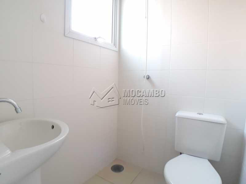 Banheiro - Apartamento Condomínio Residencial Luiza, Itatiba, Jardim Belém, SP Para Alugar, 3 Quartos, 90m² - FCAP30511 - 10