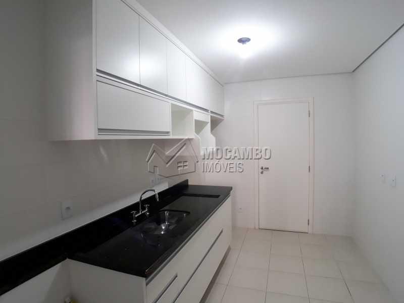 Cozinha - Apartamento Condomínio Residencial Luiza, Itatiba, Jardim Belém, SP Para Alugar, 3 Quartos, 90m² - FCAP30511 - 3