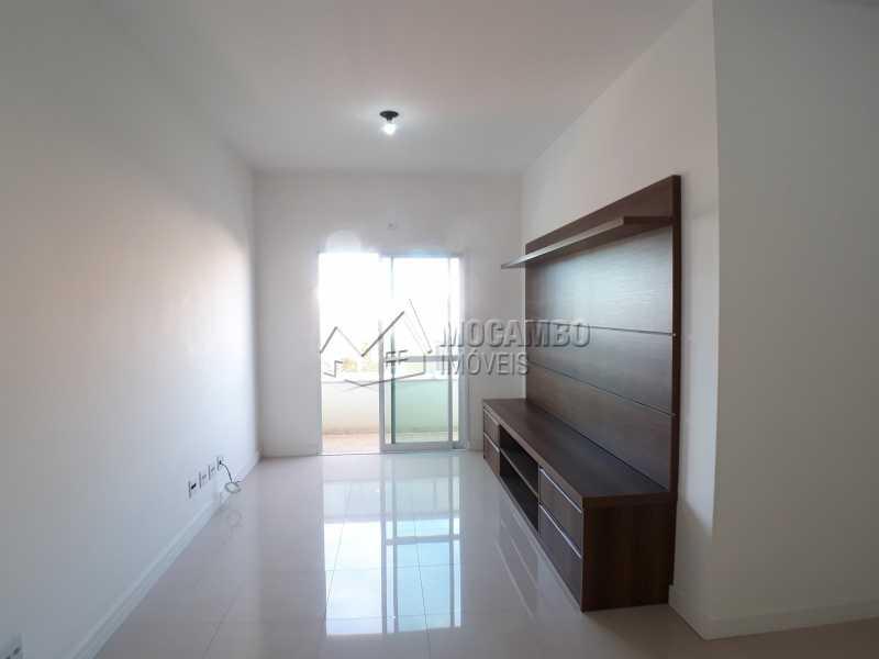 Sala - Apartamento Condomínio Residencial Luiza, Itatiba, Jardim Belém, SP Para Alugar, 3 Quartos, 90m² - FCAP30511 - 4