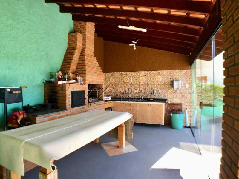 Churrasqueira - Casa em Condomínio 3 quartos à venda Itatiba,SP - R$ 700.000 - FCCN30414 - 19