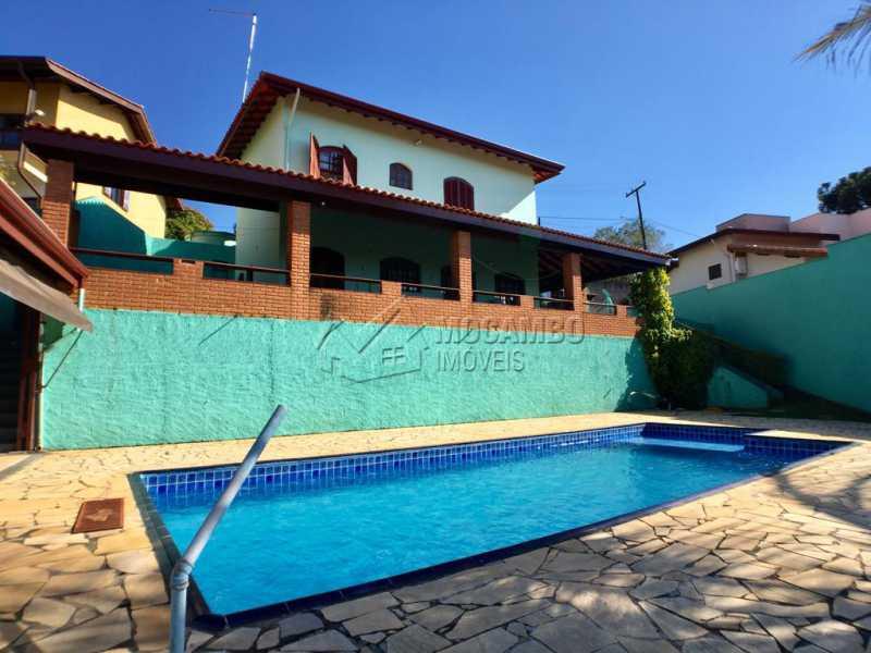 Área externa - Casa em Condomínio 3 quartos à venda Itatiba,SP - R$ 700.000 - FCCN30414 - 1