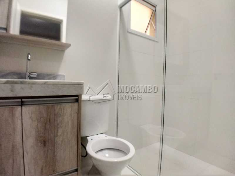 Banheiro Social - Apartamento Condomínio Residencial Manacás, Itatiba, Loteamento Santo Antônio, SP Para Alugar, 2 Quartos, 62m² - FCAP20994 - 8