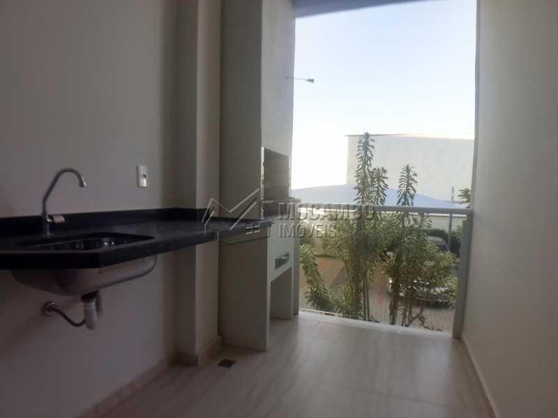 Varanda  - Apartamento Condomínio Residencial Manacás, Itatiba, Loteamento Santo Antônio, SP Para Alugar, 2 Quartos, 62m² - FCAP20994 - 9