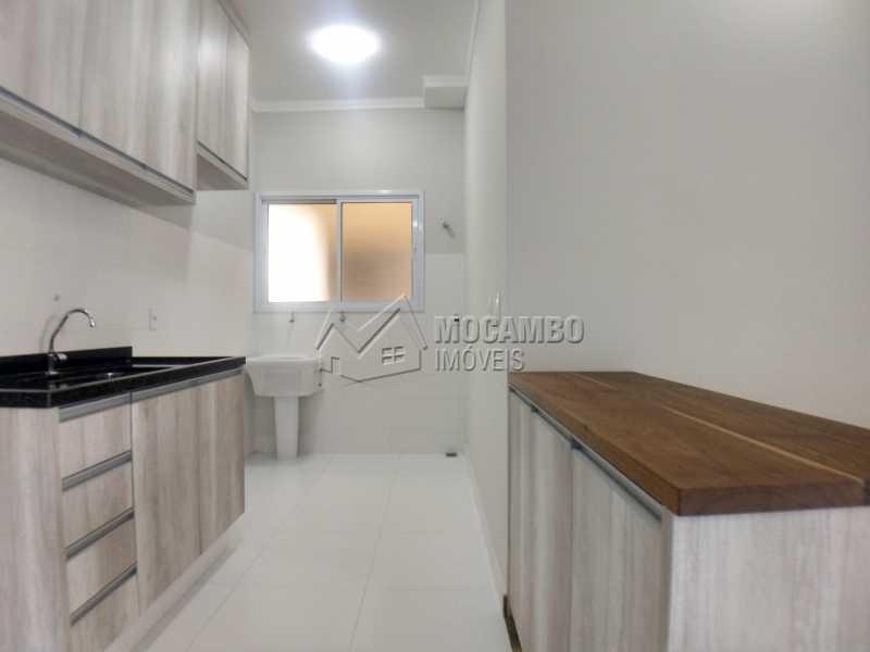 Cozinha - Apartamento Condomínio Residencial Manacás, Itatiba, Loteamento Santo Antônio, SP Para Alugar, 2 Quartos, 62m² - FCAP20994 - 4
