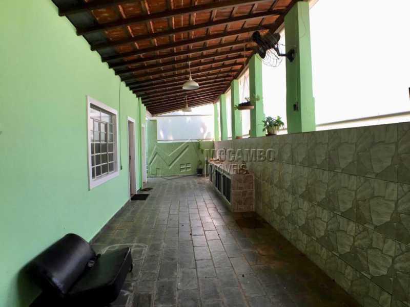 Quintal  - Casa em Condomínio 3 quartos à venda Itatiba,SP - R$ 680.000 - FCCN30417 - 1
