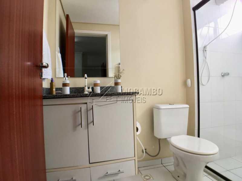 Banheiro suíte - Apartamento 3 quartos à venda Itatiba,SP - R$ 380.000 - FCAP30518 - 13