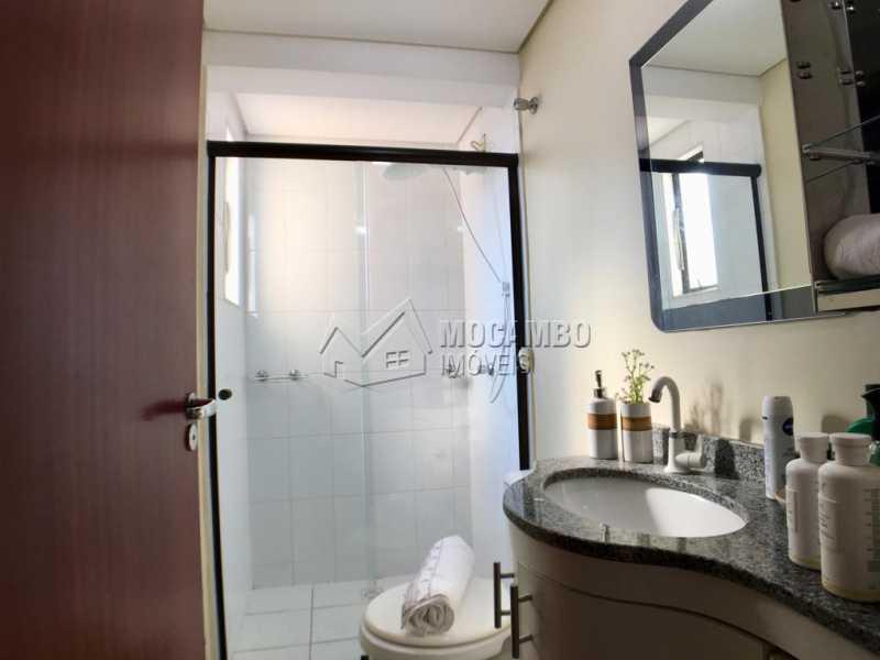 Banheiro - Apartamento 3 quartos à venda Itatiba,SP - R$ 380.000 - FCAP30518 - 16