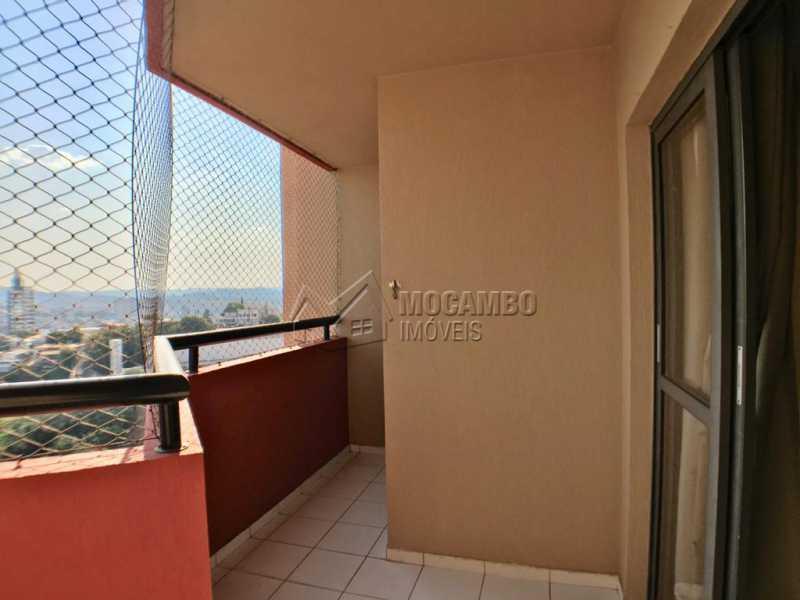 Varanda - Apartamento 3 quartos à venda Itatiba,SP - R$ 380.000 - FCAP30518 - 17