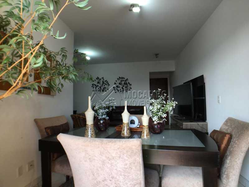 Sala de jantar - Apartamento 3 quartos à venda Itatiba,SP - R$ 380.000 - FCAP30518 - 5