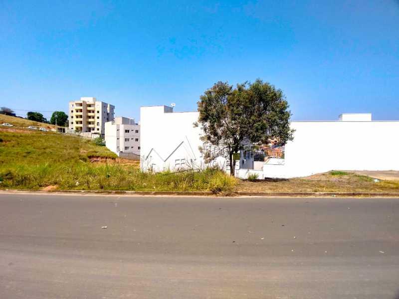 Vista Frontal - Terreno 258m² à venda Itatiba,SP Centro - R$ 275.000 - FCUF01279 - 1