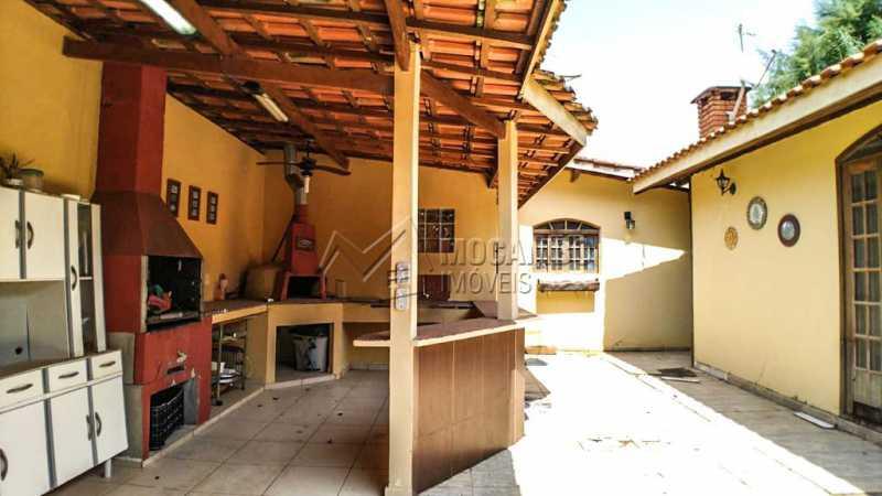 Área gourmet - Casa em Condomínio 3 quartos à venda Itatiba,SP - R$ 650.000 - FCCN30418 - 4