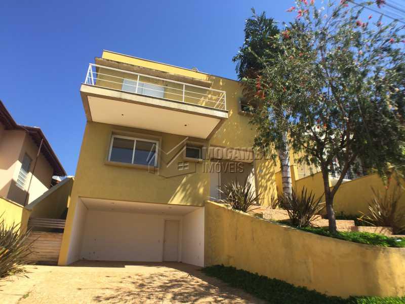 Fachada  - Casa em Condomínio 4 quartos à venda Itatiba,SP - R$ 700.000 - FCCN40142 - 1