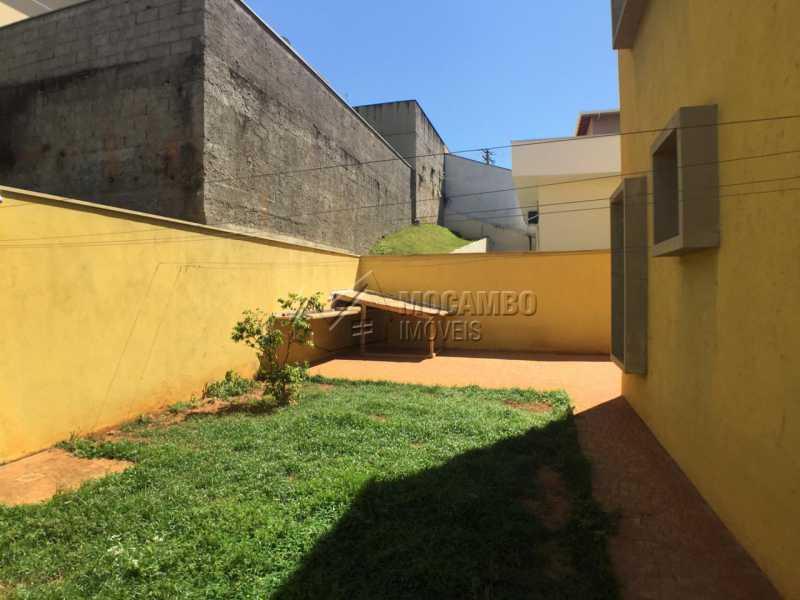 Quintal - Casa em Condomínio 4 quartos à venda Itatiba,SP - R$ 700.000 - FCCN40142 - 17