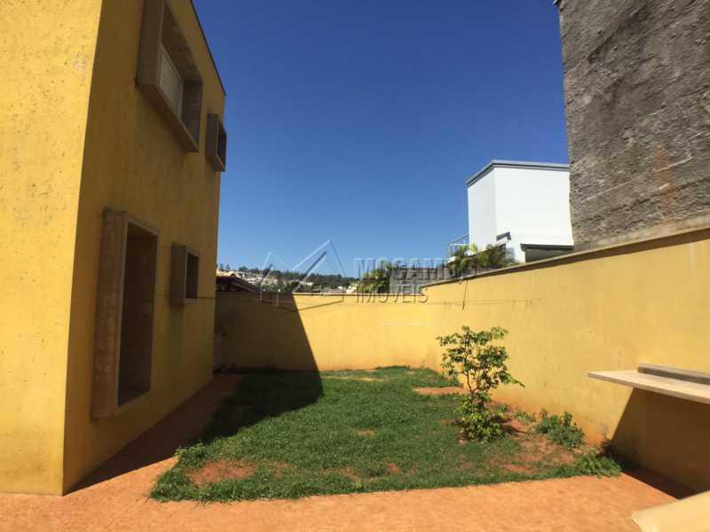Quintal  - Casa em Condomínio 4 quartos à venda Itatiba,SP - R$ 700.000 - FCCN40142 - 20