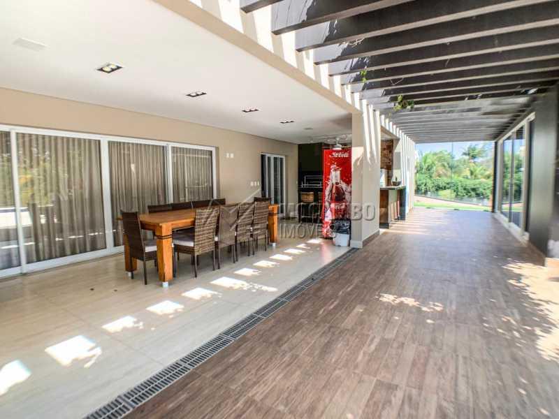 Área externa - Casa em Condomínio Ville Chamonix, Itatiba, Ville Chamonix, SP À Venda, 5 Quartos, 692m² - FCCN50034 - 22