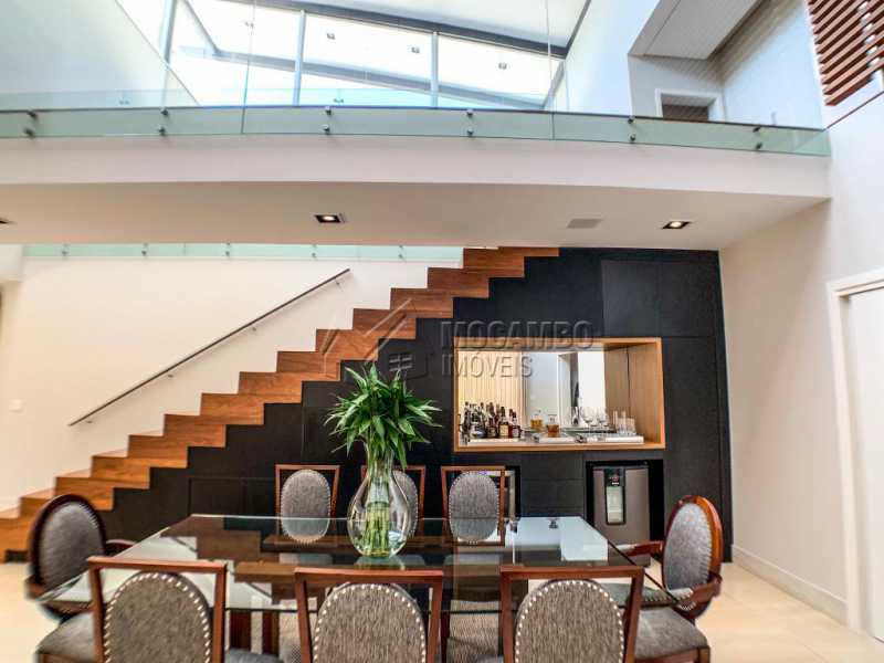 Sala de Jantar - Casa em Condomínio Ville Chamonix, Itatiba, Ville Chamonix, SP À Venda, 5 Quartos, 692m² - FCCN50034 - 6