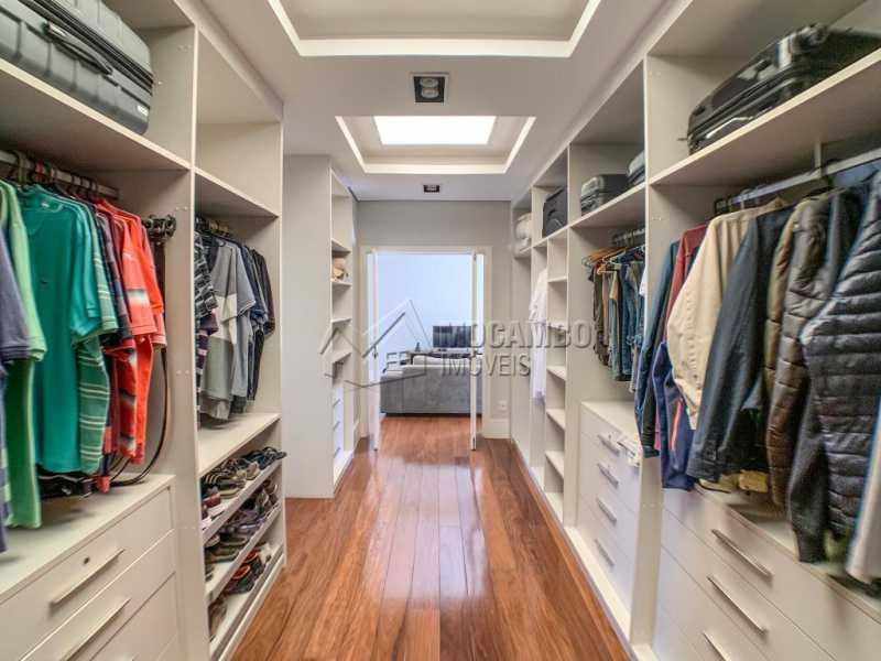 Closet - Casa em Condomínio Ville Chamonix, Itatiba, Ville Chamonix, SP À Venda, 5 Quartos, 692m² - FCCN50034 - 14