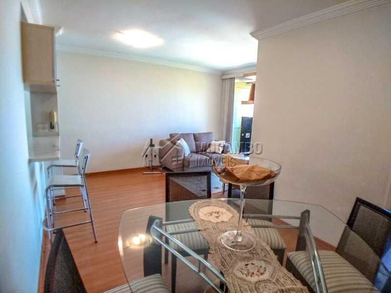 Sala de jantar - Apartamento 2 quartos à venda Itatiba,SP - R$ 345.000 - FCAP21017 - 6
