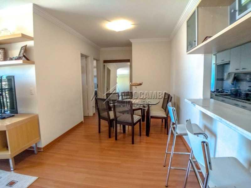 Sala - Apartamento 2 quartos à venda Itatiba,SP - R$ 345.000 - FCAP21017 - 4