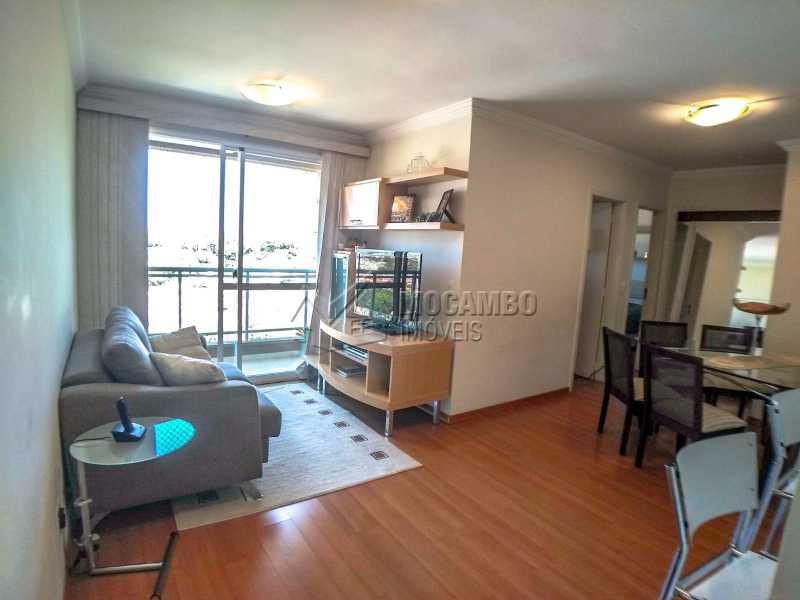 Sala - Apartamento 2 quartos à venda Itatiba,SP - R$ 345.000 - FCAP21017 - 1