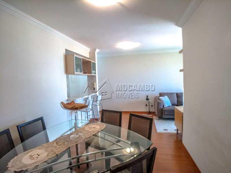 Sala de jantar - Apartamento 2 quartos à venda Itatiba,SP - R$ 345.000 - FCAP21017 - 7