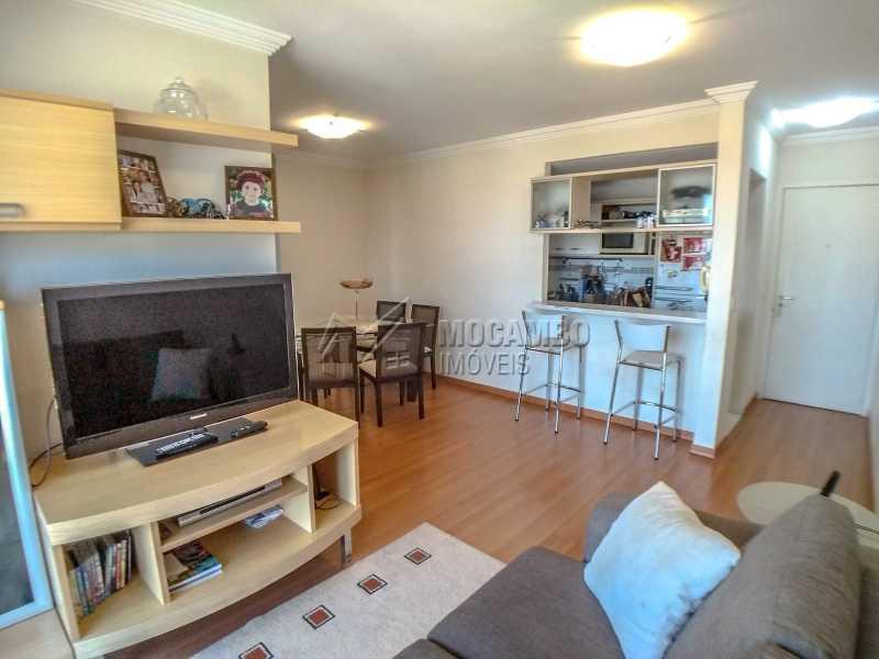 Sala - Apartamento 2 quartos à venda Itatiba,SP - R$ 345.000 - FCAP21017 - 3
