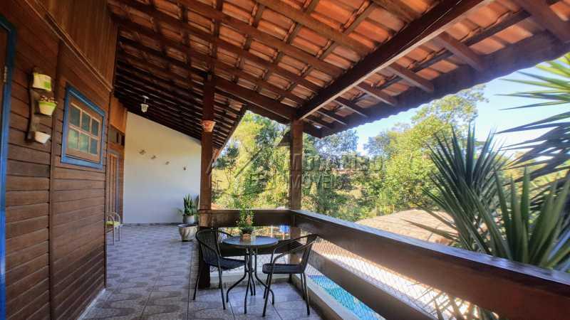 Varanda - Casa em Condomínio Itaembú, Itatiba, Bairro Sítio da Moenda, SP À Venda, 3 Quartos, 280m² - FCCN30421 - 4