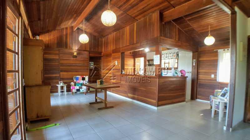 Sala - Casa em Condomínio Itaembú, Itatiba, Bairro Sítio da Moenda, SP À Venda, 3 Quartos, 280m² - FCCN30421 - 8