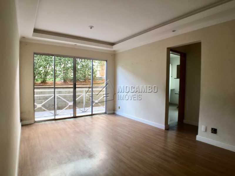 Sala - Apartamento Condomínio Residencial Fernanda, Itatiba, Jardim México, SP À Venda, 2 Quartos, 58m² - FCAP21019 - 5