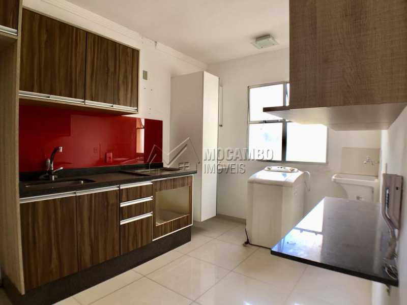 Cozinha - Apartamento Condomínio Residencial Fernanda, Itatiba, Jardim México, SP À Venda, 2 Quartos, 58m² - FCAP21019 - 4