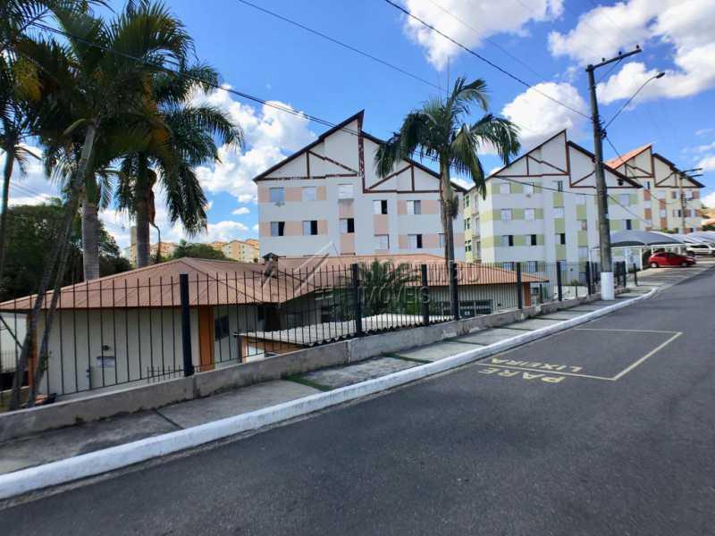 Fachada - Apartamento Condomínio Residencial Fernanda, Itatiba, Jardim México, SP À Venda, 2 Quartos, 58m² - FCAP21019 - 14