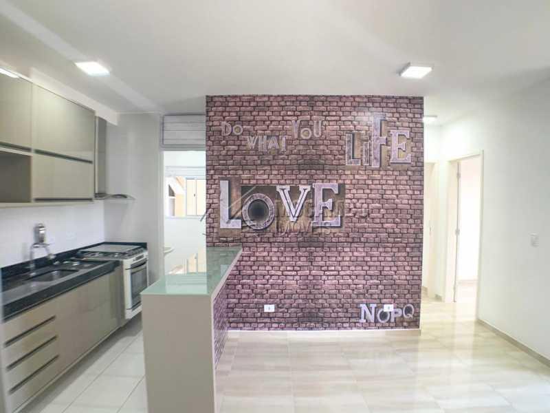 Sala/cozinha - Apartamento 2 Quartos À Venda Itatiba,SP - R$ 259.900 - FCAP21031 - 4