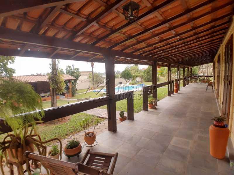 Varanda  - Casa em Condomínio Cachoeiras do Imaratá, Itatiba, Real Parque Dom Pedro I, SP À Venda, 3 Quartos, 453m² - FCCN30424 - 4
