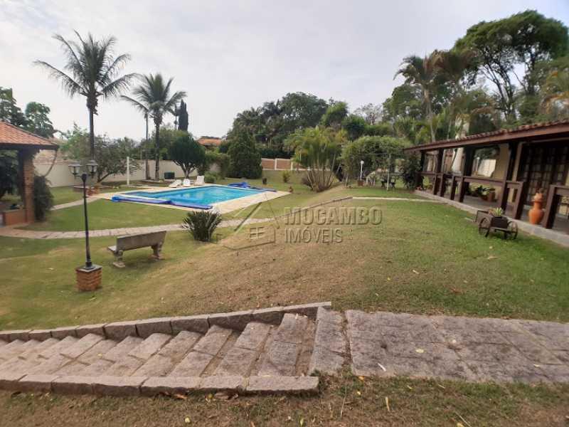 Área externa  - Casa em Condomínio Cachoeiras do Imaratá, Itatiba, Real Parque Dom Pedro I, SP À Venda, 3 Quartos, 453m² - FCCN30424 - 6