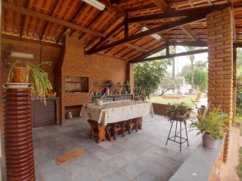 Churrasqueira  - Casa em Condomínio Cachoeiras do Imaratá, Itatiba, Real Parque Dom Pedro I, SP À Venda, 3 Quartos, 453m² - FCCN30424 - 7