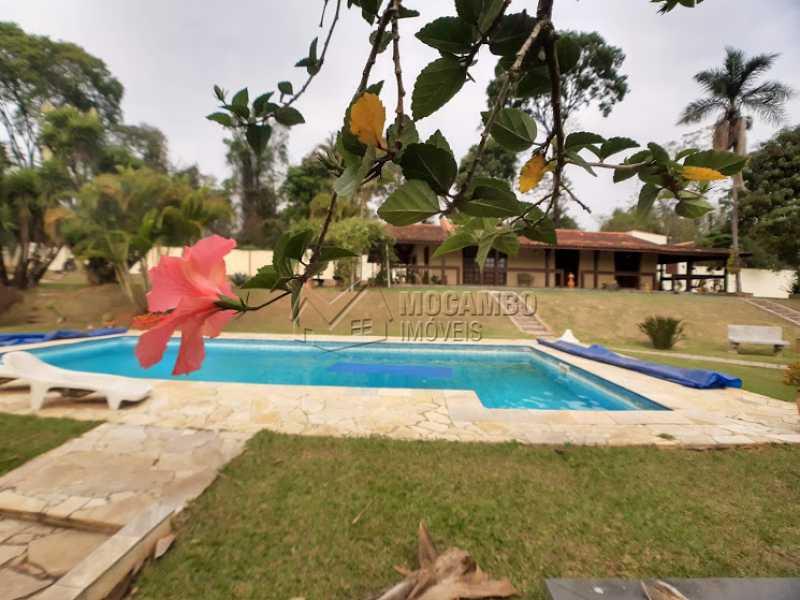 Piscina  - Casa em Condomínio Cachoeiras do Imaratá, Itatiba, Real Parque Dom Pedro I, SP À Venda, 3 Quartos, 453m² - FCCN30424 - 12